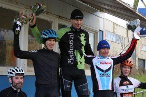 Regiocross Leiden podiumfoto John